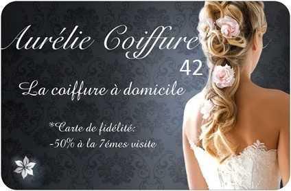 AURELIE COIFF A DOMICILE COIFFEUSE ROANNE 42300