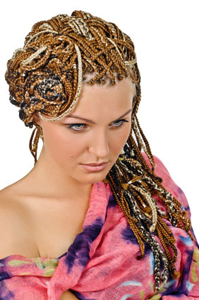 COIFFURE GLAMOUR TRESSES AFRICAINES