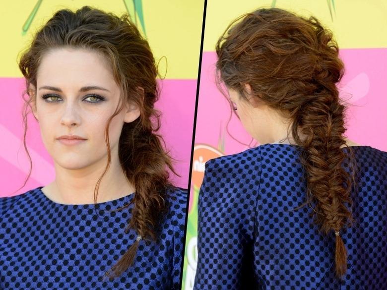 Kristen Stewart tresses