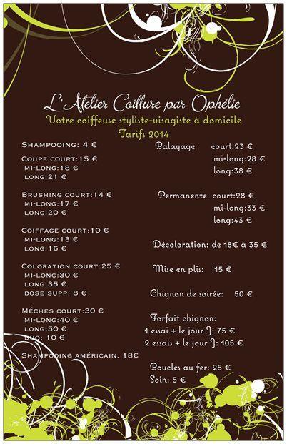 L Atelier Coiffure Par Ophelie Coiffeuse Domicile Saint Jean De