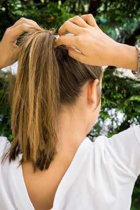 Les coiffures � r�aliser lorsqu`on a les cheveux gras