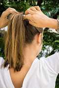Les coiffures à réaliser lorsqu`on a les cheveux gras