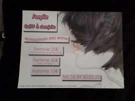 sandie coiff à domicile83490Le Muy