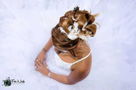 coiffeuse pour mariée