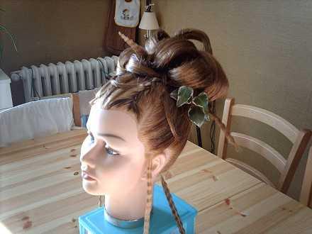 coiffure mixte à domicile