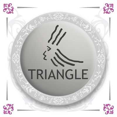 triangle coiffure