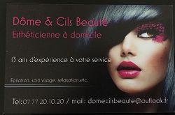 Dôme et Cils Beauté63120Courpière