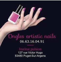 Ongles Artistic Nails83480Puget sur Argens